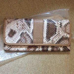 Miche snake skin wallet